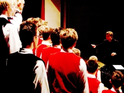 Bonifanti při jednom ze svých adventních koncertů