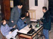V režii při natáčení kantáty Hora tří světel od Bohuslava Martinů